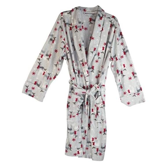 20a1910f2693 Charter Club Intimates & Sleepwear | Gray Holiday Reindeer Short ...